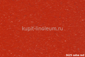Marmoleum Piano 3625 salsa red. Forbo натуральный линолеум