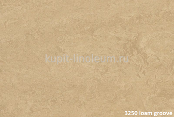 Forbo Marmoleum Real 3250 loam groove.