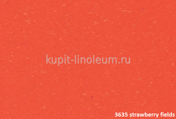 Marmoleum Piano 3635 strawberry fields. Forbo натуральный линолеум