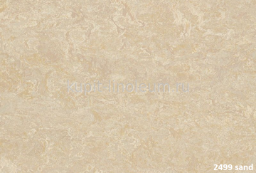 Forbo Marmoleum Real 2499 sand.