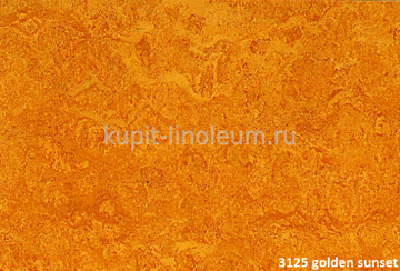 Forbo Marmoleum Real 3125 golden sunset.