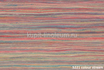 Marmoleum Striato 5221 colour stream. Forbo натуральный линолеум